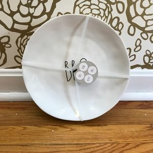 "Rae Dunn BBQ 10"" Melamine Serving Plates Set of 4"